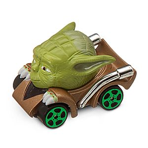 Yoda Die Cast Disney Racer - Star Wars