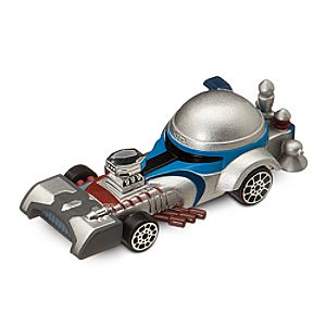 Jango Fett Die Cast Disney Racer - Star Wars