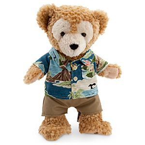 Duffy the Disney Bear Plush in Aloha Wear - Aulani A Disney Resort & Spa - 12