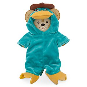 Duffy the Disney Bear Agent P Costume - 17""