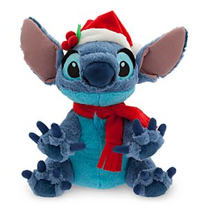 Santa Stitch Plush - Medium - 12