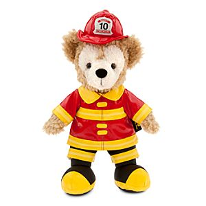 Duffy the Disney Bear Fireman - Small - 12