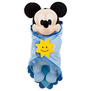 Disneys Babies Mickey Mouse Plush Doll and Blanket - Small - 11
