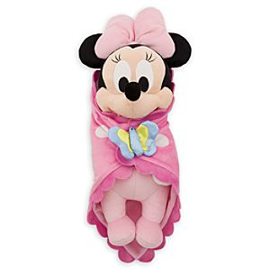 Disneys Babies Minnie Mouse Plush Doll and Blanket - Small - 11
