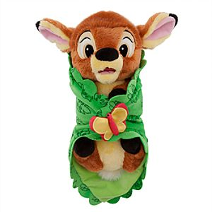 Disneys Babies Bambi Plush Doll and Blanket - Small - 10