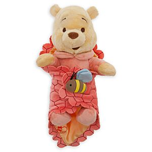 Disneys Babies Winnie the Pooh Plush Doll and Blanket - Small - 10