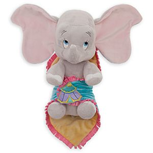 Disneys Babies Dumbo Plush Doll and Blanket - Small - 11