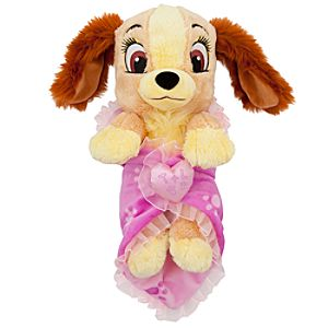 Disneys Babies Lady Plush and Blanket - Small - 10