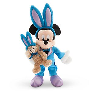 Mickey Mouse with Duffy Plush - Easter - Small - 9