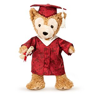 Duffy the Disney Bear Graduate Plush - Class of 2015 - Medium - 12