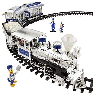 Disneyland Railroad Train Set - Diamond Celebration - Limited Availability