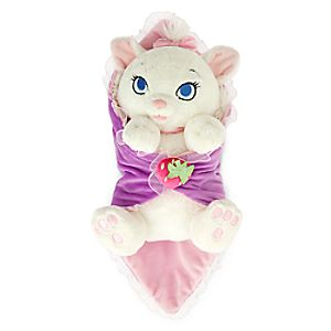 Disneys Babies Marie Plush with Blanket - Small - 10