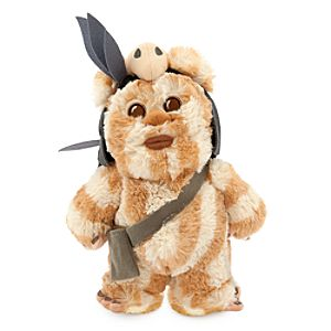 Logray the Ewok Plush - Star Wars - Small - 9''