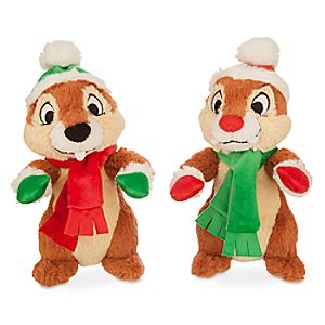 Chip 'n Dale Holiday Plush Set - Small - 8''