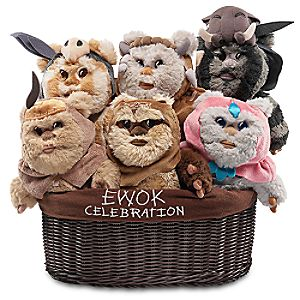 Ewok Celebration Limited Edition Plush Set - Star Wars - Small - 9