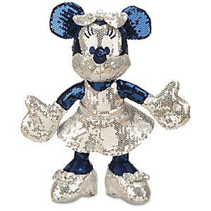 Minnie Mouse Sequined Plush - Disneyland Diamond Celebration - Small - 11