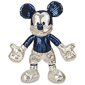 Mickey Mouse Sequined Plush - Disneyland Diamond Celebration - Small - 11