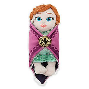 Disneys Babies Anna Plush Doll and Blanket - Small - 10
