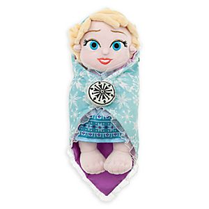 Disneys Babies Elsa Plush Doll and Blanket - Small - 10