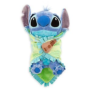 Disneys Babies Stitch Plush with Blanket - Small - 10