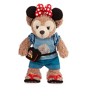 ShellieMay the Disney Bear Plush - Day in the Park - Medium - 12