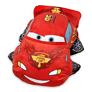 Lightning McQueen Plush Pillow