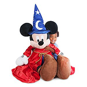 Sorcerer Mickey Mouse Plush - Extra Large - 36''
