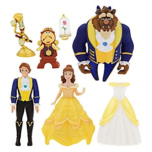 Beauty and the Beast Deluxe Figure Fashion Set