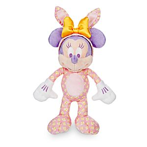 Minnie Mouse Plush Easter Bunny - 9 - Walt Disney World