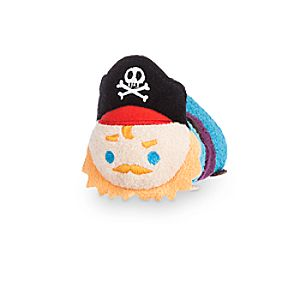 Pirate Captain Tsum Tsum Plush - Pirates of the Caribbean - Mini - 3 1/2