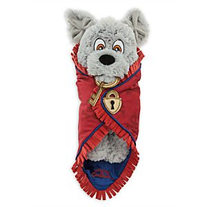 Disneys Babies Jailor Dog Plush with Blanket - Pirates of the Caribbean - Small - 10