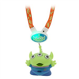 Toy Story Alien Light-Up Eye-Popping Figure and Lanyard