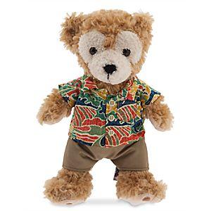Duffy the Disney Bear Scenic Plush - Aulani, A Disney Resort & Spa - Medium - 12