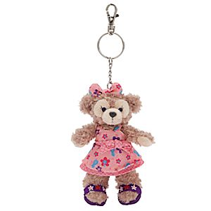 ShellieMay the Disney Bear Plush Keychain - Aulani, A Disney Resort & Spa
