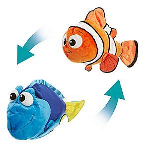 Nemo and Dory Reversible Plush - Large - 22