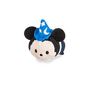 Sorcerer Mickey Mouse Tsum Tsum Plush - Fantasyland - Mini - 3 1/2