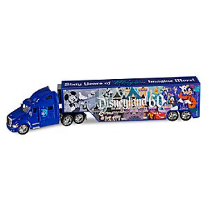 Disneyland Diamond Celebration Die Cast Hauler