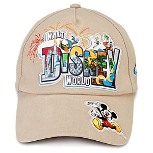 Retro Walt Disney World Baseball Cap for Adults