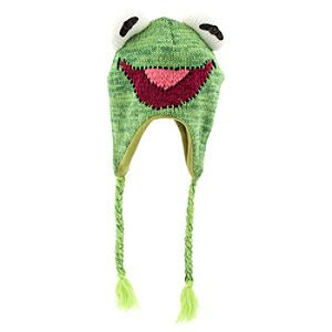 The Muppets Kermit Knit Hat