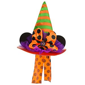Halloween Minnie Mouse Witch Hat