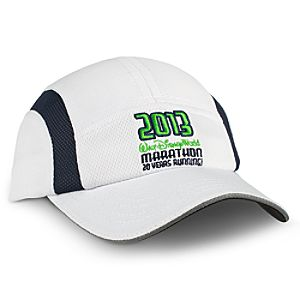 2013 20 Years Running Walt Disney World Marathon Performance Cap for Men