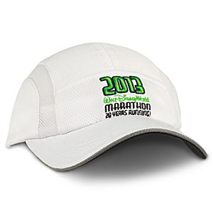 "2013 ""20 Years Running"" Walt Disney World Marathon Cap for Women"