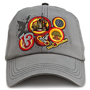 Sorcerer Mickey Mouse Baseball Cap for Adults - Walt Disney World 2013