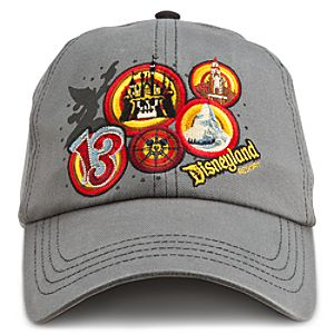 Sorcerer Mickey Mouse Baseball Cap for Adults - Disneyland 2013