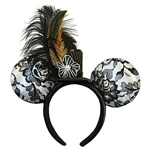 Minnie Mouse Ear Headband - Lace