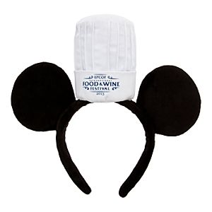 Epcot International Food & Wine Festival Mickey Mouse Ear Headband - Limited Availability