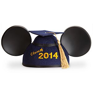 Mickey Mouse Graduation Ear Hat 2014