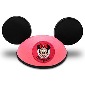 Minnie Mouse Ear Hat for Girls - Disneyland Pink