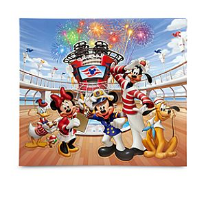 Disney Cruise Line Mickey Mouse Scrapbook Album