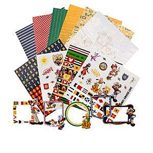 Disney Cruise Line Mickey Mouse Scrapbooking Kit